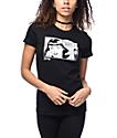Thrasher Boyfriend Girls camiseta negra