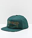 Thrasher Davis Forest Green Snapback Hat
