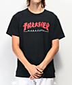 Thrasher Godzilla Black T-Shirt