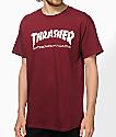 Thrasher Skate Mag Burgundy T-Shirt