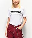 Thrasher Skate Mag camiseta blanca