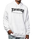Thrasher Skate Mag sudadera con capucha en blanco