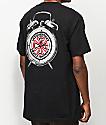 Thrasher x Independent Time To Go camiseta negra