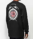 Thrasher x Independent Time To Go camiseta negra de manga larga