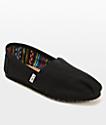 Toms Classics zapatos todo negro (mujer)