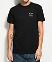 Toy Machine x RVCA Standard Black T-Shirt