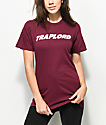 Traplord Logo Burgundy T-Shirt