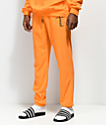 Traplord Orange French Terry Sweatpants