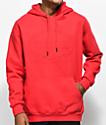 Traplord Tonal sudadera roja con capucha