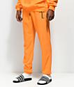 Traplord pantalones deportivos de rizo francés en naranja
