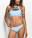 Trillium Barbados Blue Crisscross Bikini Bottom