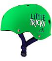 Triple Eight Little Tricky Green Skateboard Helmet