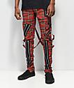 Tripp NYC Slim Red Bondage Pants