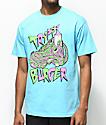 Trippy Burger Jelly Shoe Light Blue T-Shirt