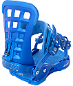 Union Atlas Metallic Blue Snowboard Bindings