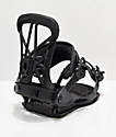 Union Flight Pro Black Snowboard Bindings 2019