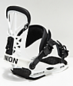 Union Flight Pro White Snowboard Bindings 2019