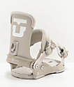 Union Trilogy Warm Grey Snowboard Bindings Women's 2020