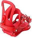 Union Womens Rosa Red Snowboard Bindings