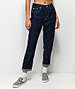 Unionbay Julianne Blue Rinse Mom Jeans