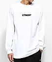 Utmost Co. Logo White Long Sleeve T-Shirt