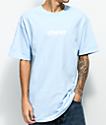 Utmost Co. Solid Logo camiseta en azul caro