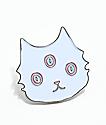 Valfre broche de gato blanco
