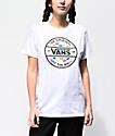 Vans Alley Way White T-Shirt