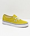 Vans Authentic Cress Green & White Skate Shoes