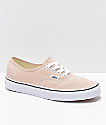 Vans Authentic Frappe & True White Skate Shoes