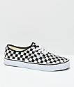 Vans Authentic Golden Coast zapatos de skate a cuadros