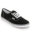 Vans Authentic Lo Pro Black Shoes