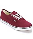 Vans Authentic Lo Pro Windsor Wine Shoes
