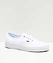 Vans Authentic White Skate Shoes