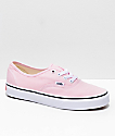 Vans Authentic zapatos en rosa y blanco