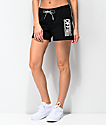 Vans Avenue Black French Terry Sweat Shorts