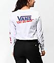 Vans BMX Red, White & Blue Long Sleeve T-Shirt