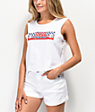 Vans BMX White Muscle Tank Top