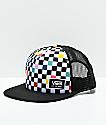 Vans Beach Bound Checkerboard Snapback Hat