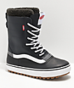 Vans Black & White Standard Snow Boots