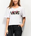 Vans Botanic White Crop T-Shirt