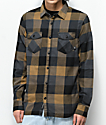 Vans Box Black & Brown Flannel Shirt