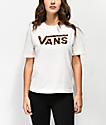 Vans Boxy Leopard Fill Cream T-Shirt