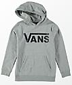 Vans Boys Classic Grey Hoodie