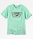 Vans Boys Full Patch Mint T-Shirt