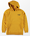 Vans Boys Full Patched Yellow Hoodie