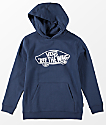 Vans Boys OTW Dress Blue Hoodie