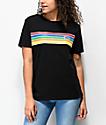 Vans Bursted Stripe Black T-Shirt