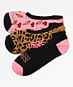 Vans Canoodle Animal House 3 Pack No Show Socks