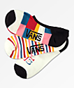 Vans Canoodle Patched Up paquete de 3 calcetines invisibles